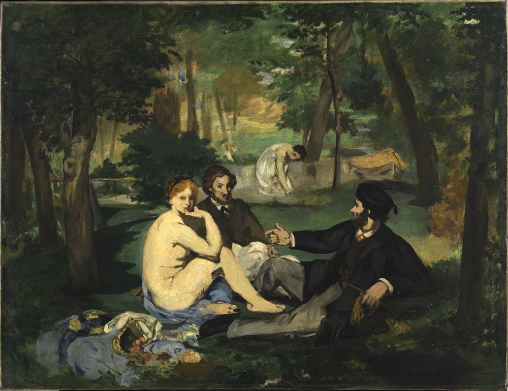 Édouard Manet, Déjeuner sur l'herbe, 1863-68