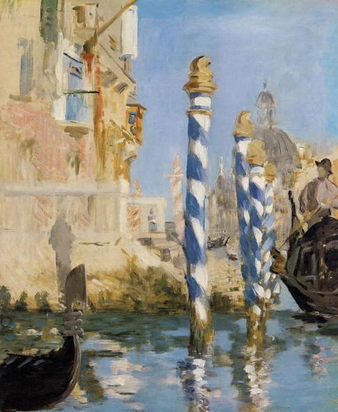 Édouard Manet. Le Grand Canal de Venise, 1874