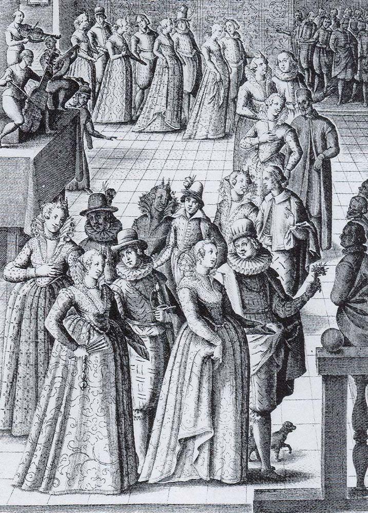 Giacomo Franco Ballo a Palazzo Ducale, 1590