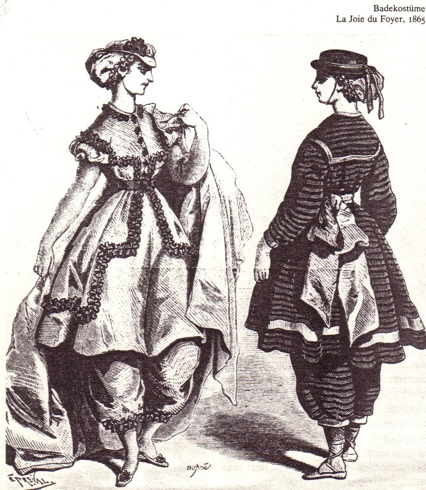 Swimming Costumes, 1865