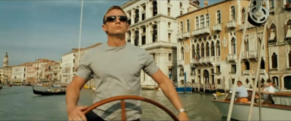 Daniel Craig Bond in Casino Royale, 2006.