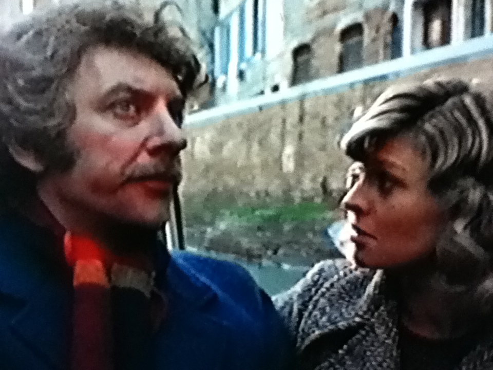 Donald Sutherland and Julie Christie in Don't look now, a scary movie of 1973.