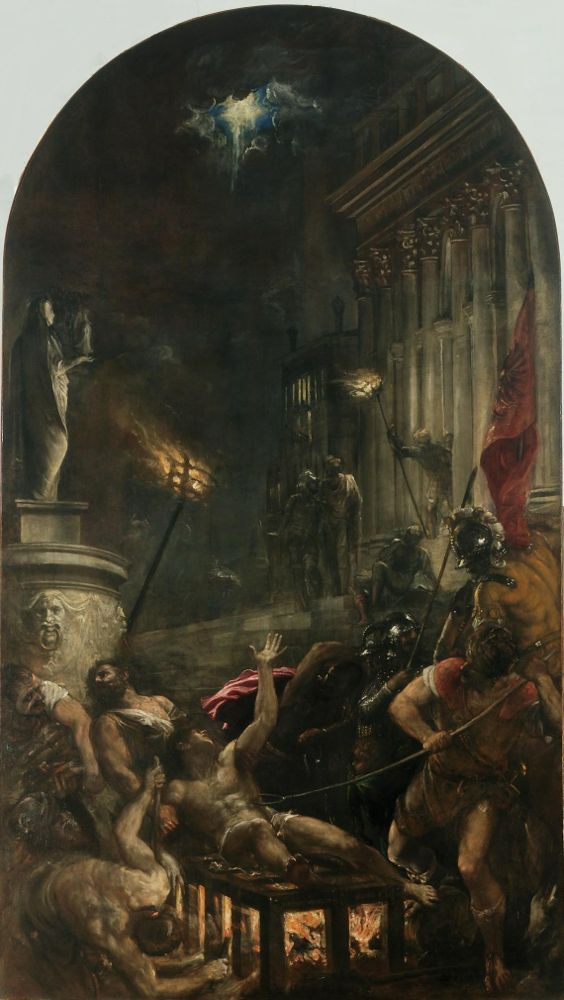 Titian, Martyrdom of St. Lawrence, 1548-57